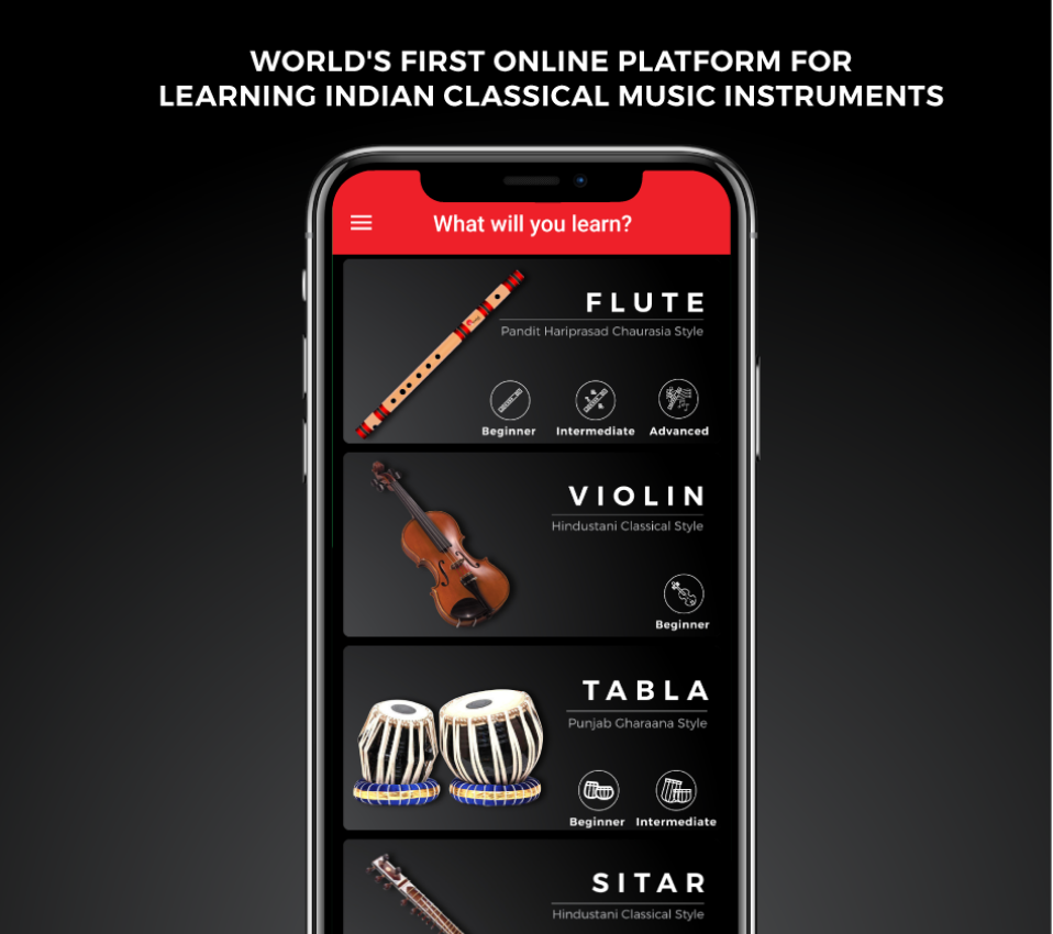 myGurukul | Learn Flute | Sitar | Tabla | Violin online